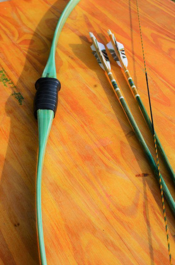 Archery Bow Vintage Ben Pearson Fiberglass Long By Podunkhollow