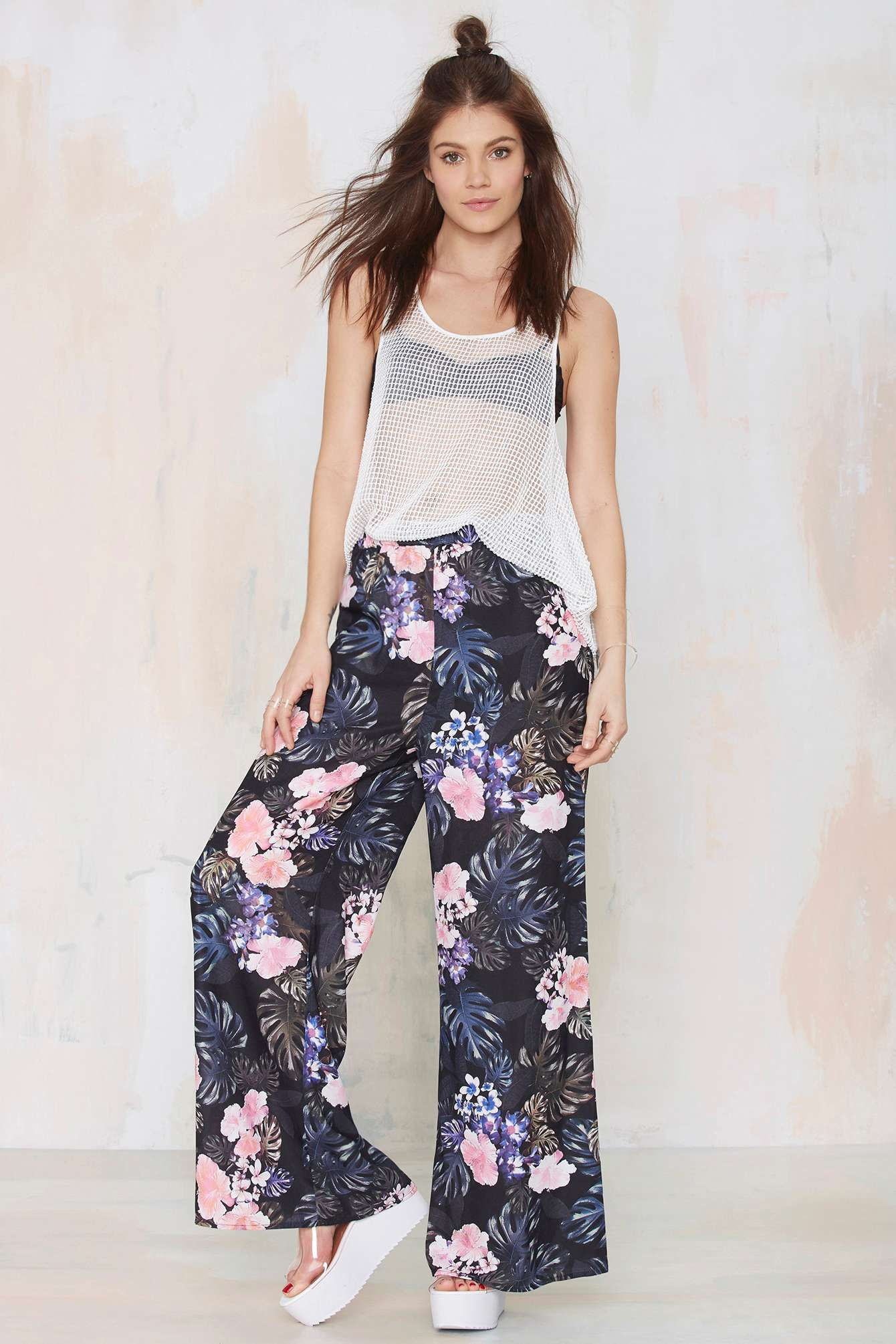 The Fifth Fall in Love Palazzo Pants