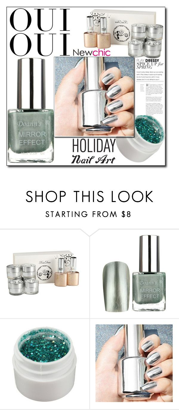 """""""Untitled #304"""" by qara-c ❤ liked on Polyvore featuring beauty and Oui"""