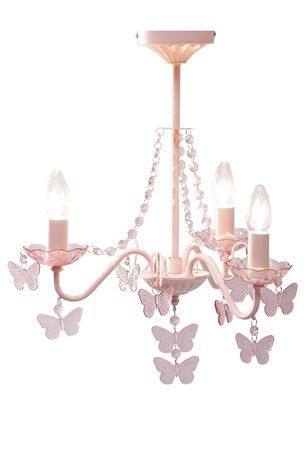 Buy butterfly electric chandelier from the next uk online shop kid buy butterfly electric chandelier from the next uk online shop aloadofball Images