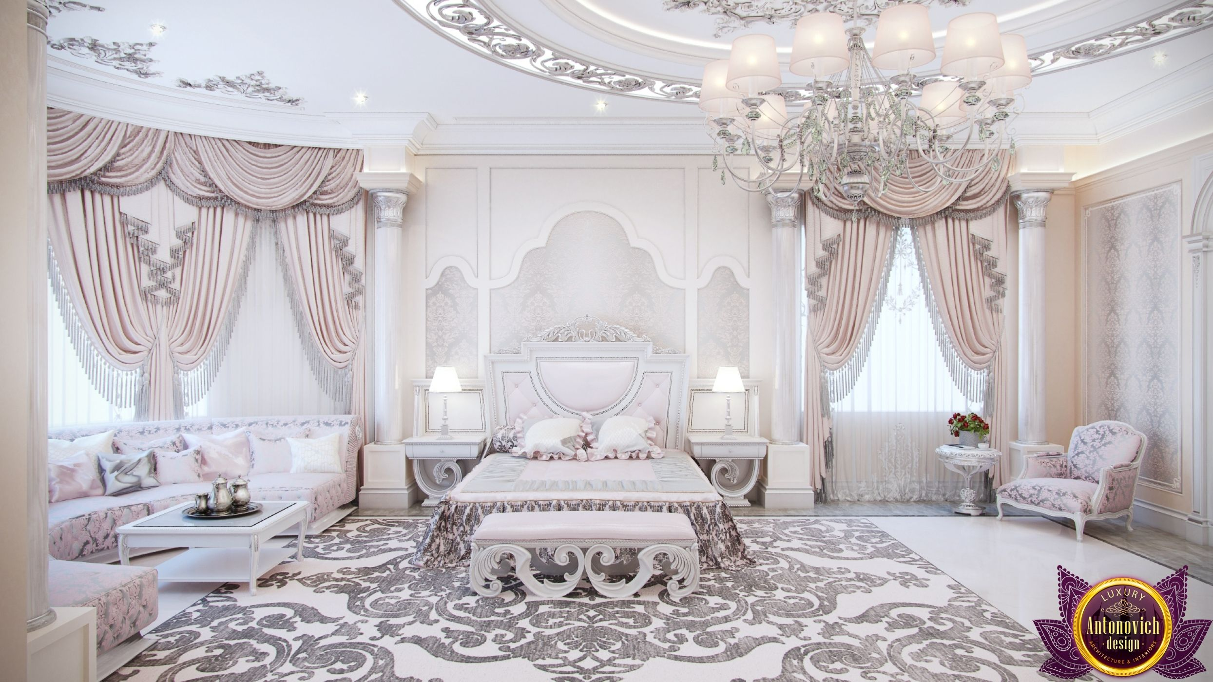 Master Bedroom in Dubai, Interior design for bedrooms, Photo 2