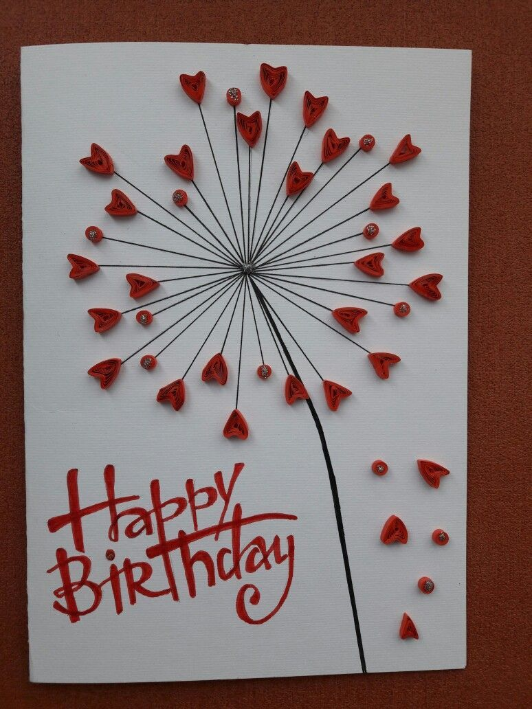 Candle Happy Birthday Card Blank Ideen Fur Geburtstagskarten