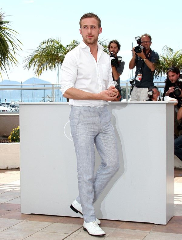 Ryan Gosling Is Taking Lost River To Cannes Lainey Gossip Entertainment Update Mens Beach Wedding Attire Beach Wedding Attire Beach Wedding Groom Attire