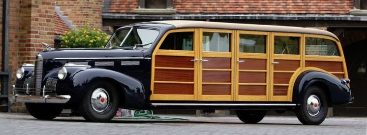 1940 Lasalle 8 Door Woody Airport Limousine Classic Cars Trucks Station Wagon Wagons
