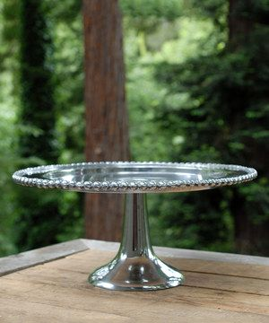 Loving this Metal Cake Stand on #zulily! #zulilyfinds