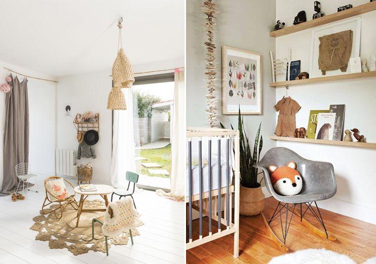 Inspiration décoration chambre denfant ambiance kinfolk pas de plastique des couleurs