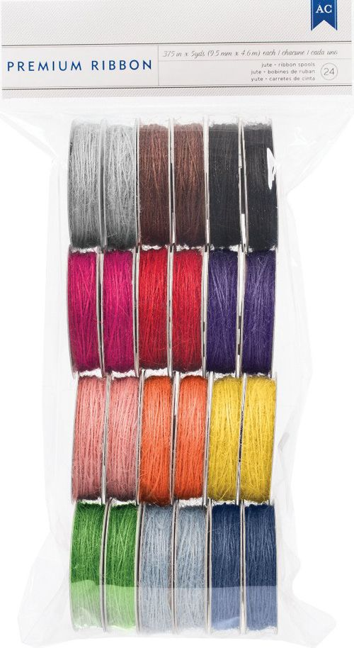 Today's Peachy Cheap deal is an American Crafts 120 YARD pack of Jute Ribbon.  ONLY $7.99 at www.peachycheap.com!
