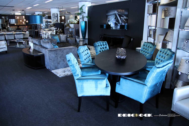 Woonkamer Danio Light turquoise Exclusief model van Driehoek ...