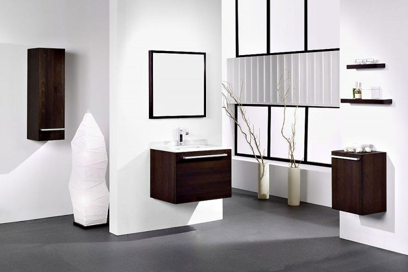 Achromatic Colour Scheme Modern White Bathroom Stylish Bathroom Bathroom Layout