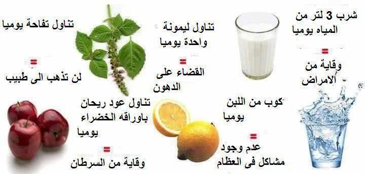 فوائد الطعام Health Tips Nutrition Consultant Health