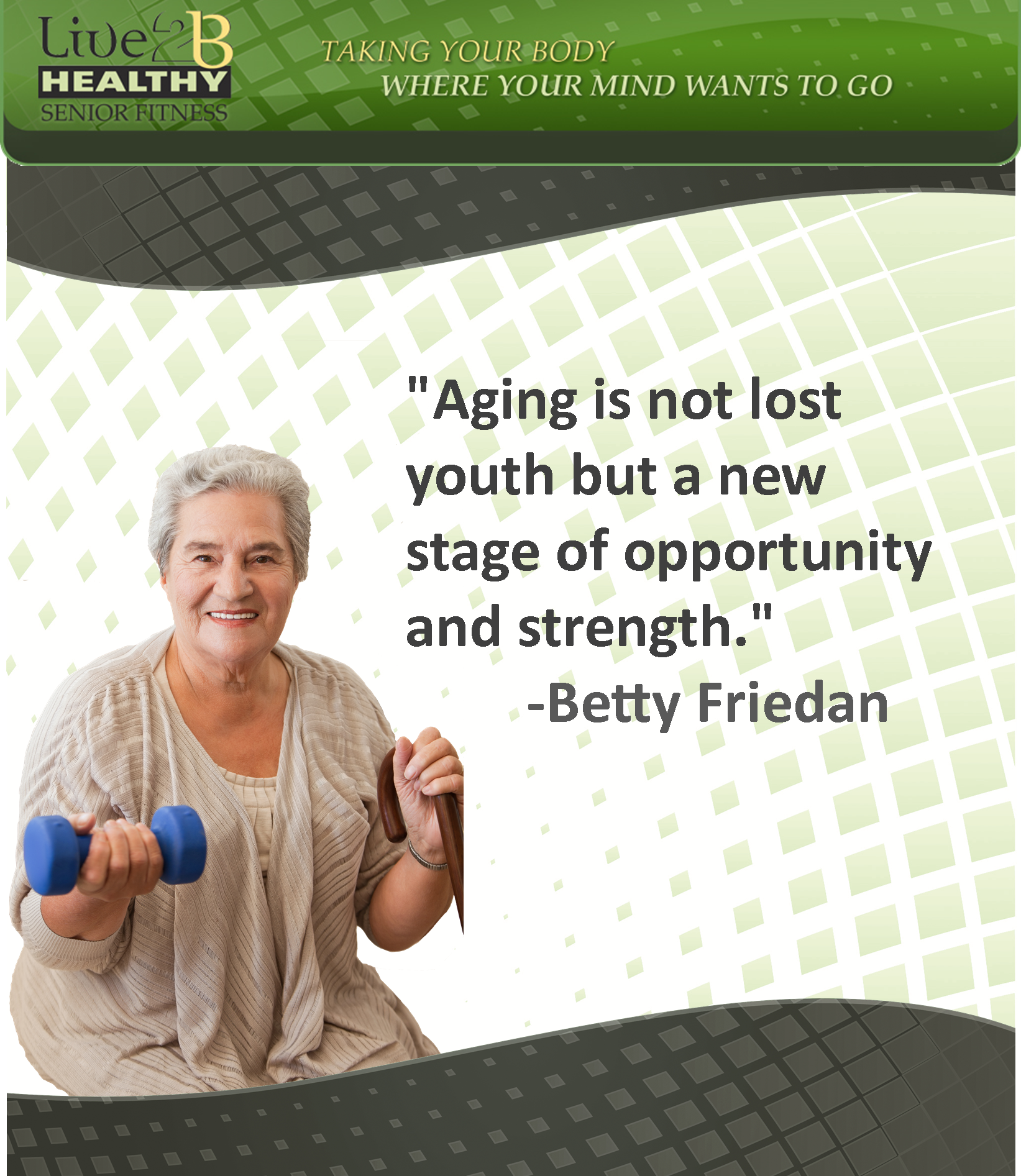 Active Aging Quote