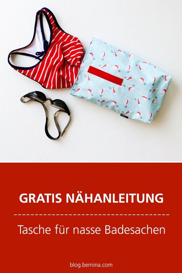 Photo of Tasche für nasse Badebekleidung nach dem Schwimmbad »BERNINA Blog