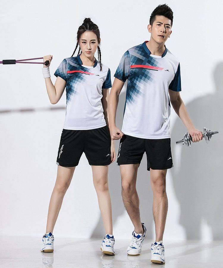 2018 Male Female Tennis Shirts Suits Tennis Men Table Tennis Clothing Badminton Jerseys Tennis Clothes Tennis Shirts Golf Fashion