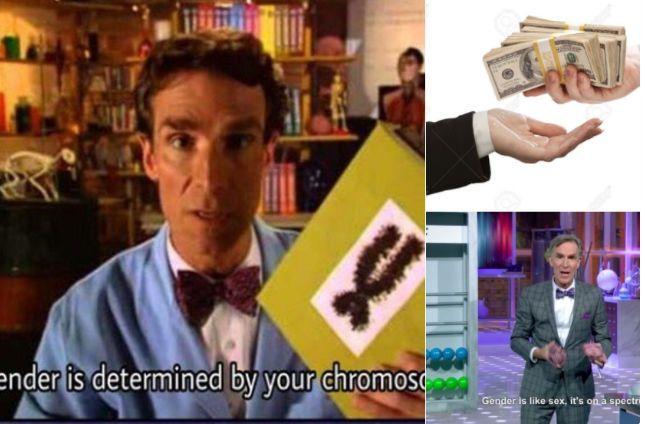 Bill Nye Stating Gender Is Decided 'By Your Chromosomes' Is A False Viral Meme