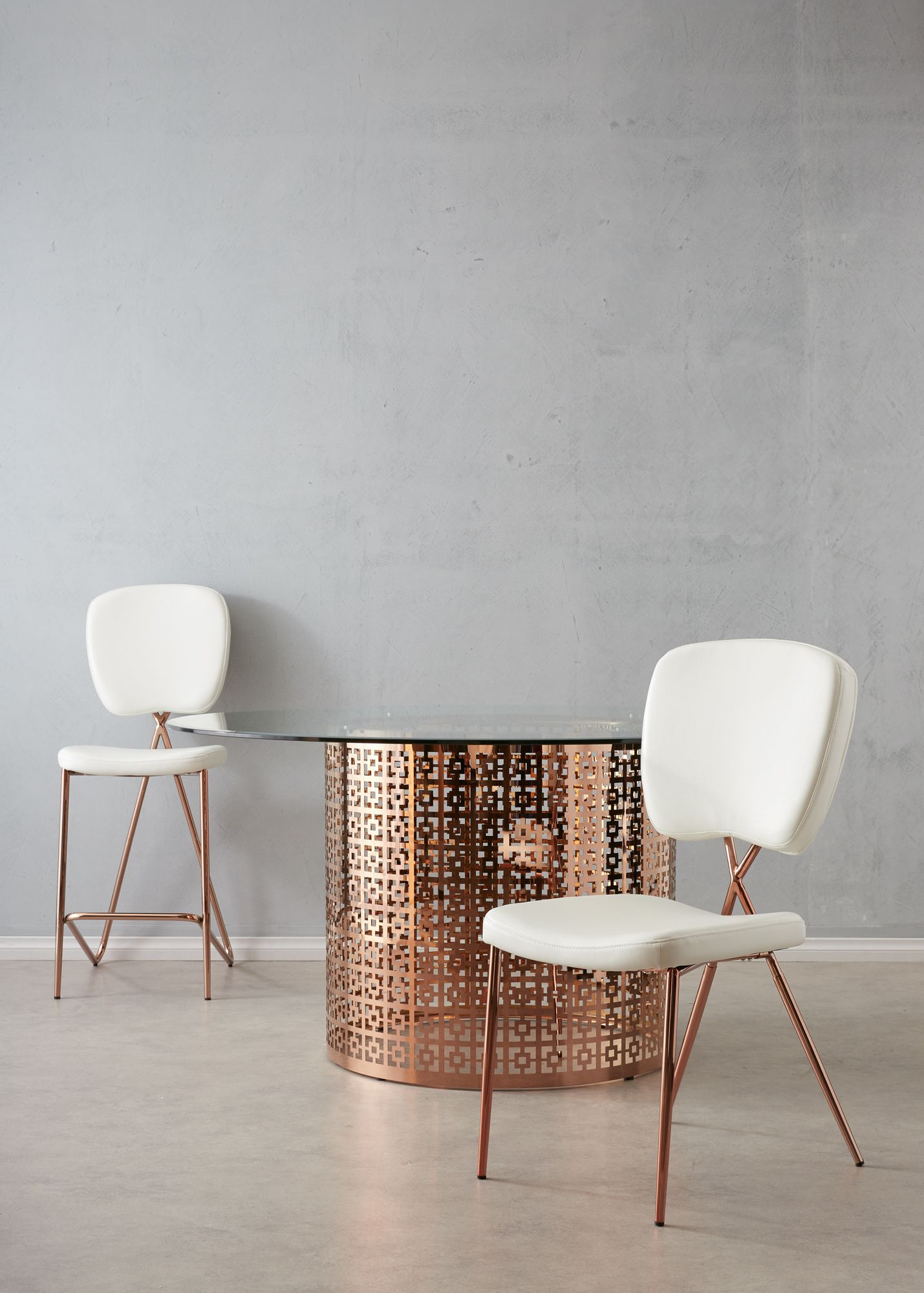 Looking For The Perfect Rose Gold Dining Set Look No Further Than
