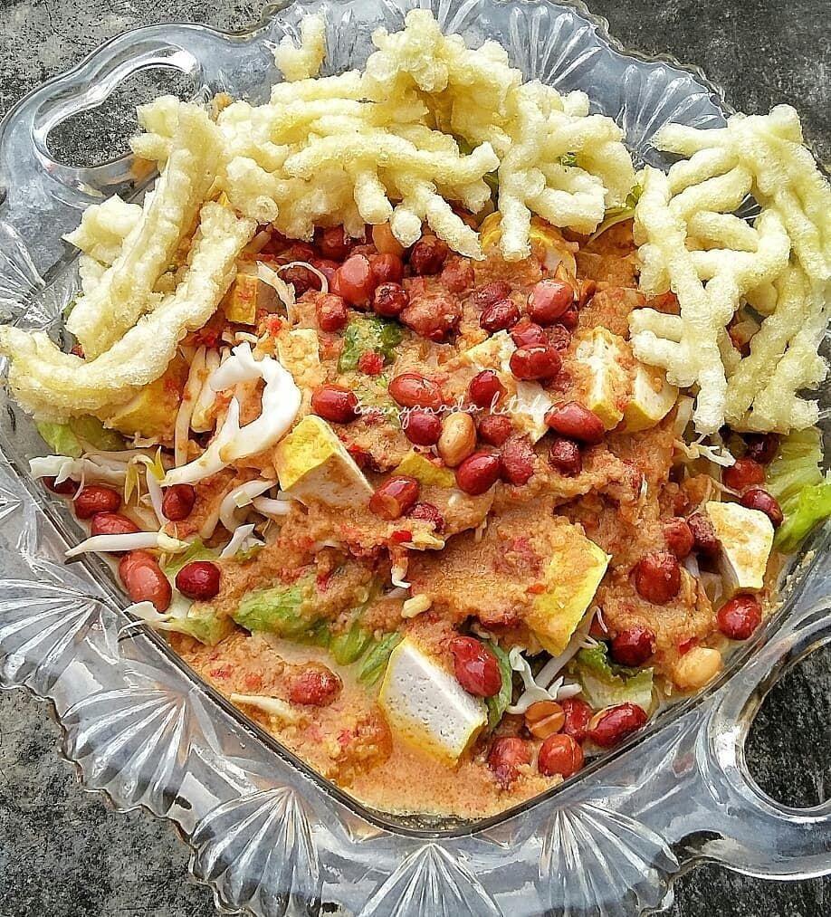 Resep Asinan Sayur C Instagram Resep Masakan Asia Masakan Asia Makanan Dan Minuman