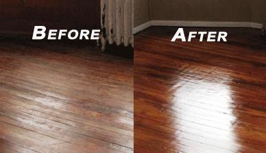 Buff And Recoat Hardwood Floors