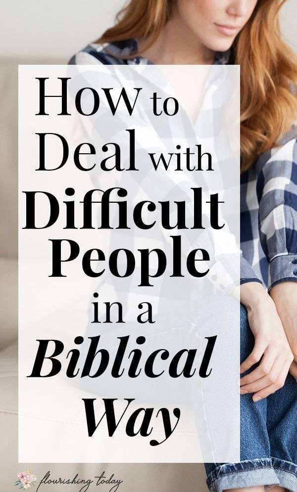 How Do You Deal With Difficult People  Dealing With -4536