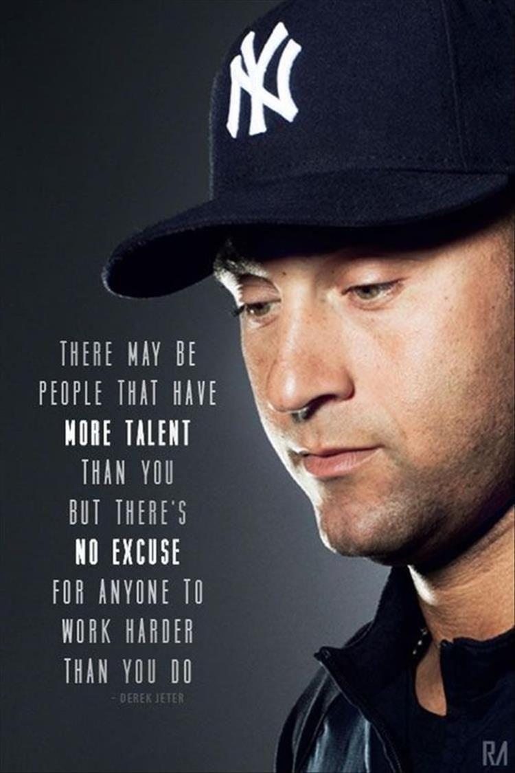 Top Ten Quotes Of The Day Derek Jeter Quotes Baseball Quotes Derek Jeter