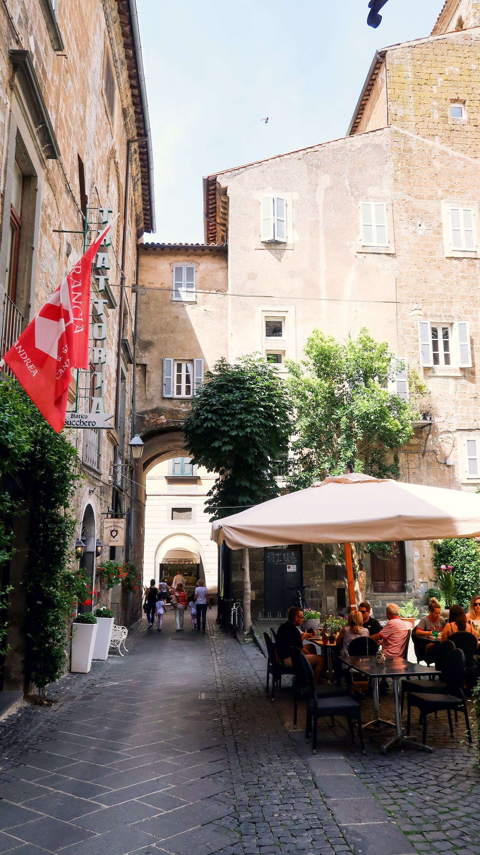 Orvieto Street view, In this moment