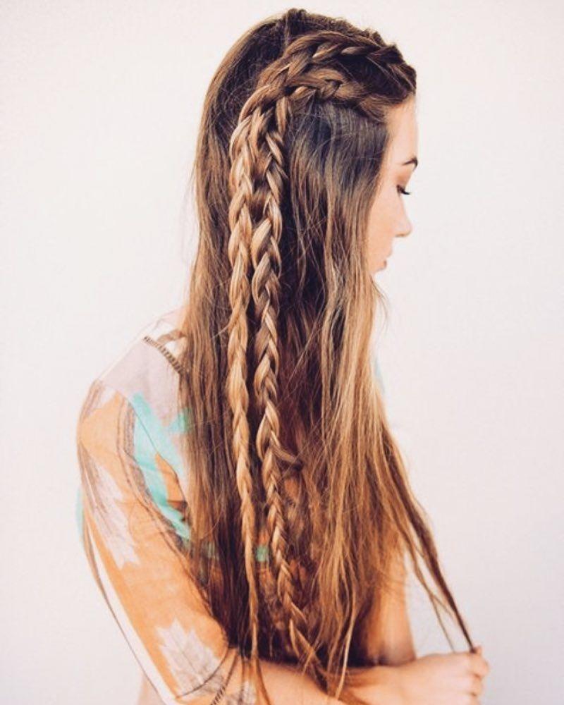 Hippie Braids Tribalbraids Hair Styles Long Hair Styles Braids For Long Hair