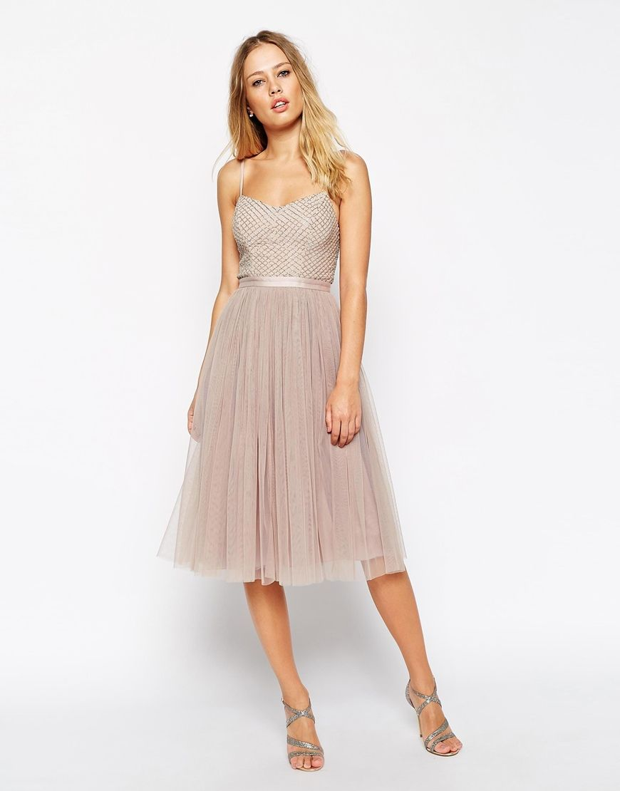 Image 4 of Needle & Thread Embellished Coppelia Ballet Dress