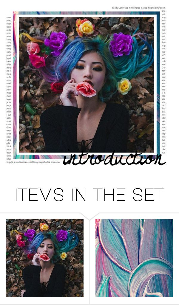"""""""introduction"""" by chxshire-cat ❤ liked on Polyvore featuring art"""