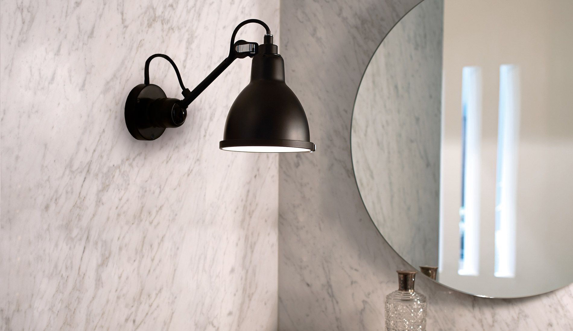 dcw lampe gras n°304 badezimmer wandleuchte  badezimmer