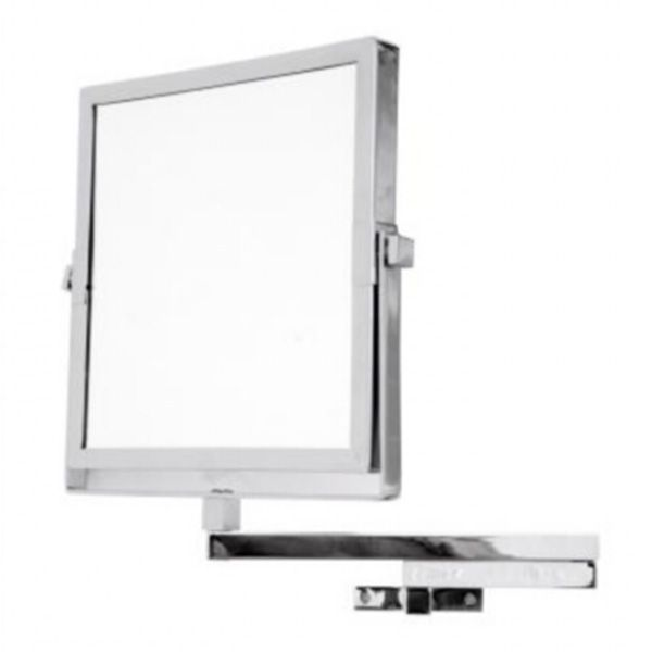 Large Square Double Sided Pedestal Mirror Uk