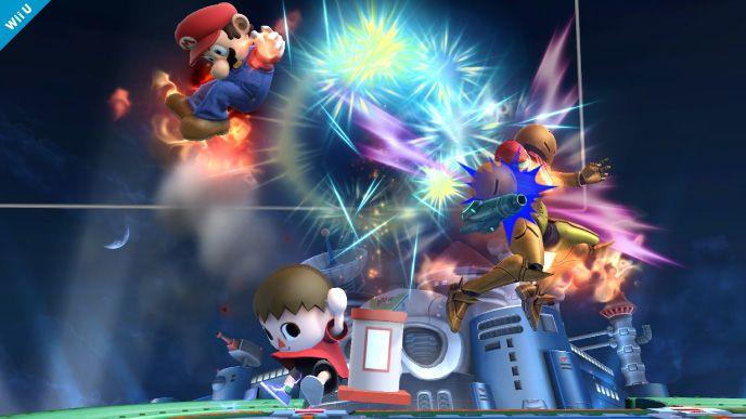 Super Smash Bros. for Nintendo 3DS / Wii U: Villager (Wii U 7)