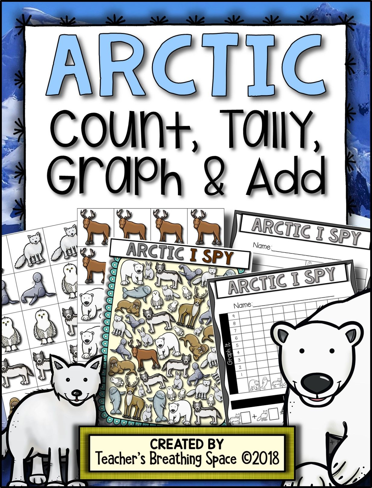 Arctic Count Tally Graph And Add Arctic Graphing