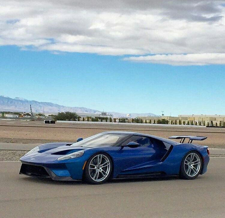 Ford Gt Liquid Blue Fordclassiccars