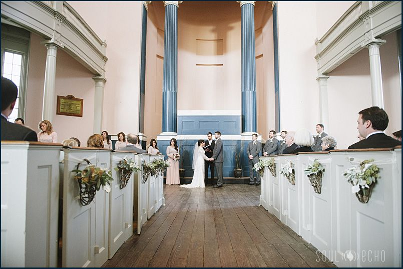 wedding at monumental church in richmond va photo by soul echo studios richmondwedding