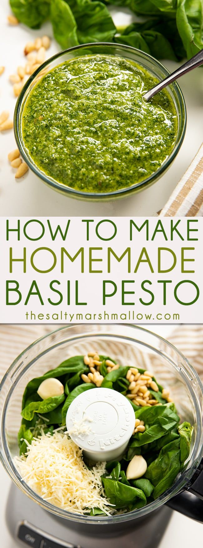 Homemade Pesto #oliveoils