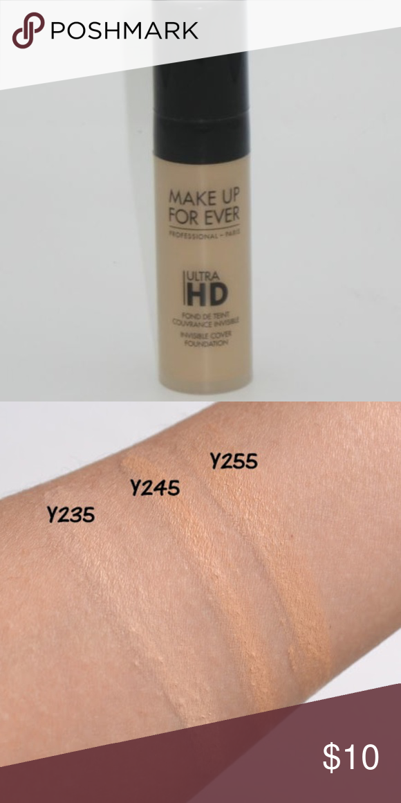MAKE UP FOR EVER Ultra HD Foundation Brand NEW Invisible