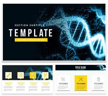 Gene Artificial Intelligence Powerpoint Template Powerpoint