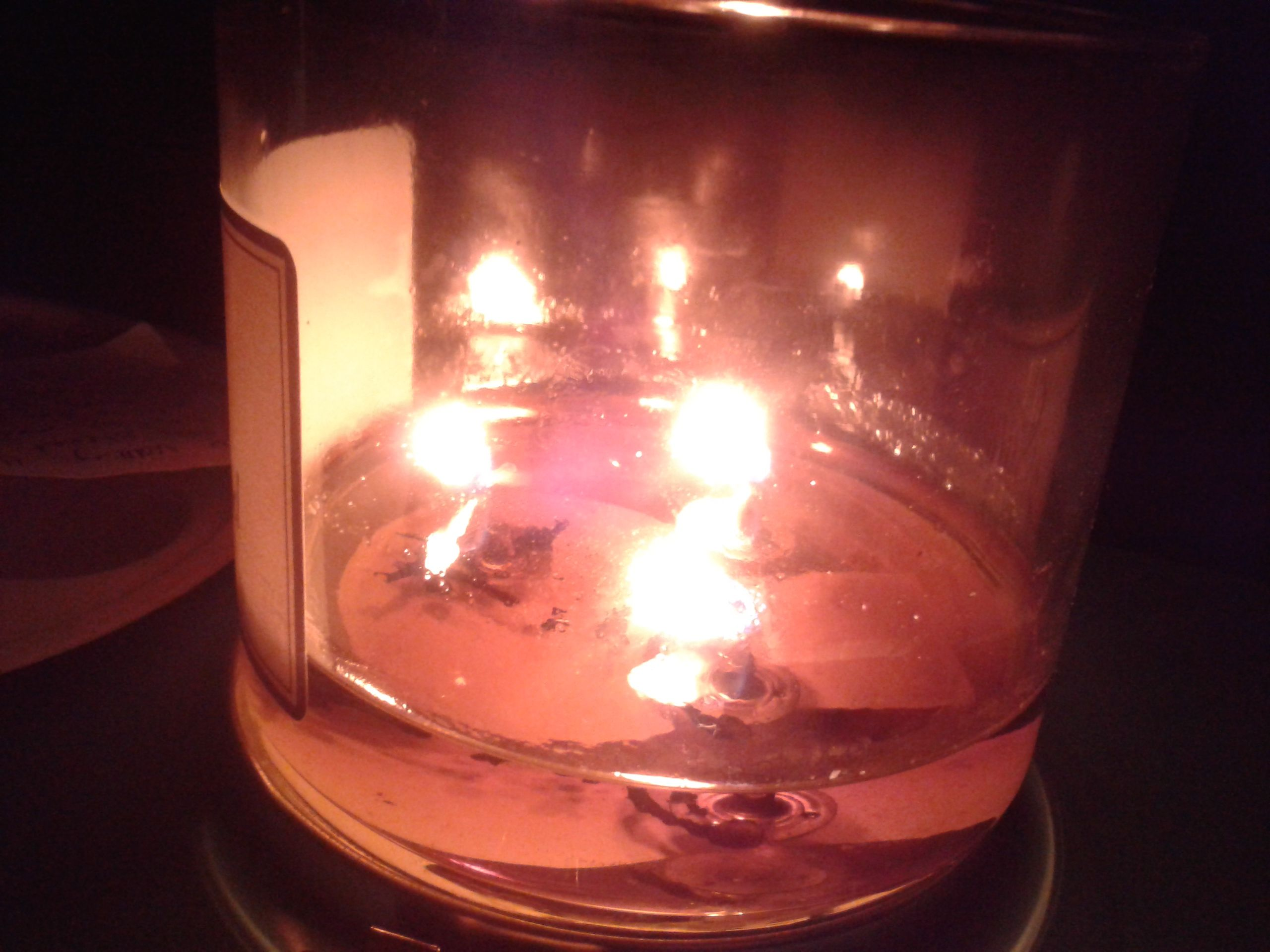 Join the blackout Candle! M.Dirro
