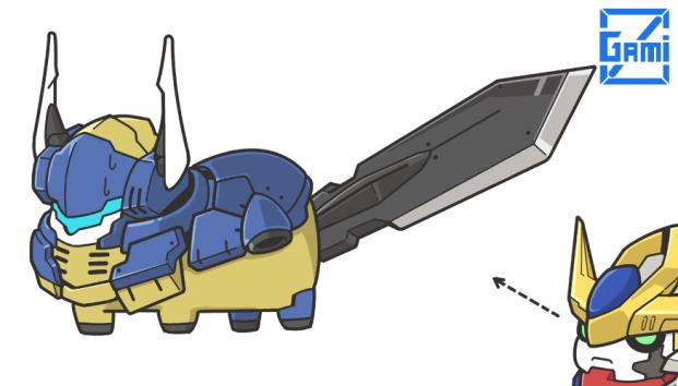 可愛到爆 日本插畫家畫q版鐵 Gundam Chibi Mobile Suit