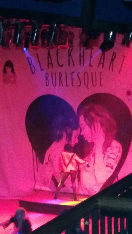 Blackheart burlesque Suicide girls! Amazing show... #thriller #tribute