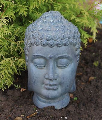 #buddha Head Sculpture Ornament #indoor Outdoor #garden Home Decor Stone  Ceramic, View