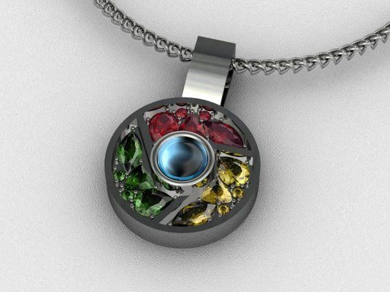 Top 10 nerdy and unusual necklace pendants tattoos unlikely explore jewelry design neck chain and more mozeypictures Gallery