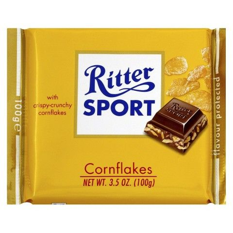 Ritter Sport Milk Chocolate with Cornflakes Bar