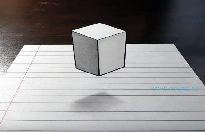Легко раскраска 3д рисунки по клеточкам 72 на Идеи дизайна ...