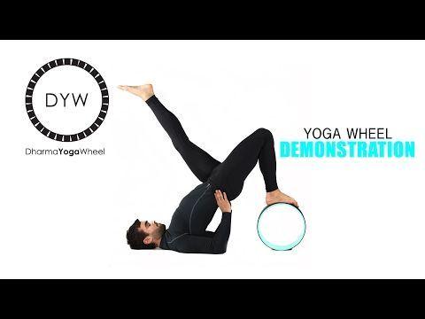 deep hip flexor stretch  intermediate yoga wheel pose 7