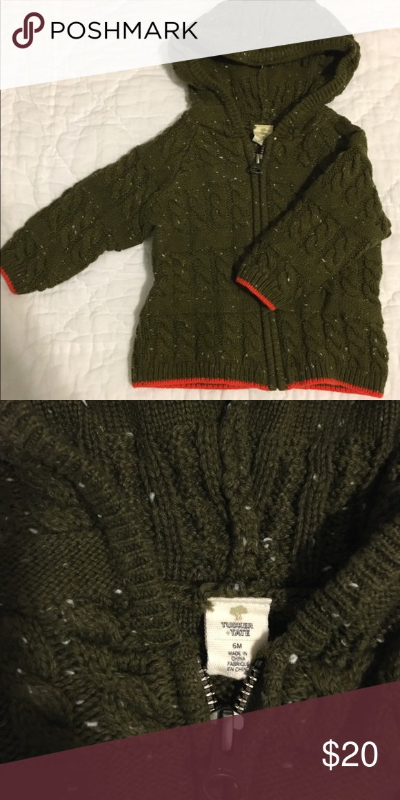 40de01f1c184 Tucker + Tate sweater jacket size 6 months Never worn baby boy sweater  jacket Tucker + Tate Jackets & Coats