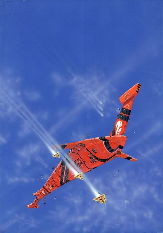 Peter Elson Spaceship