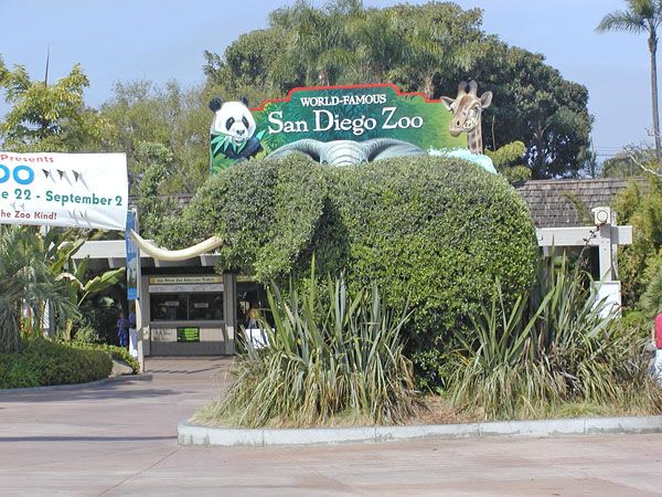 Foyer Door Zoo : Picture of zoo entrance s around usa