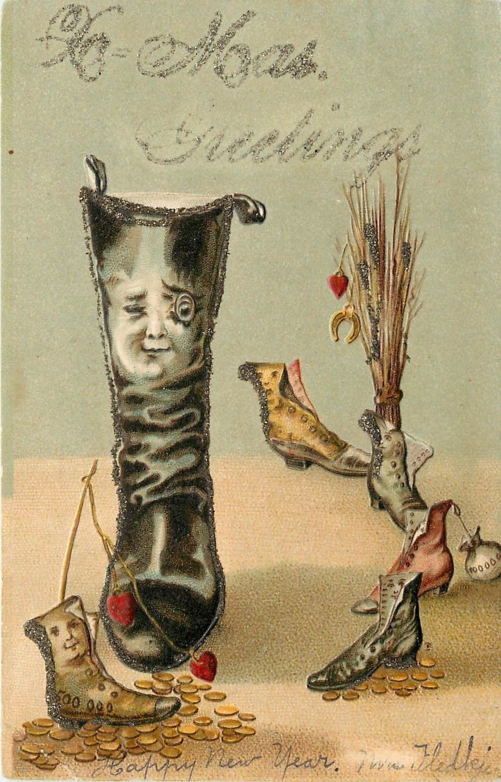 Postcards boots 65