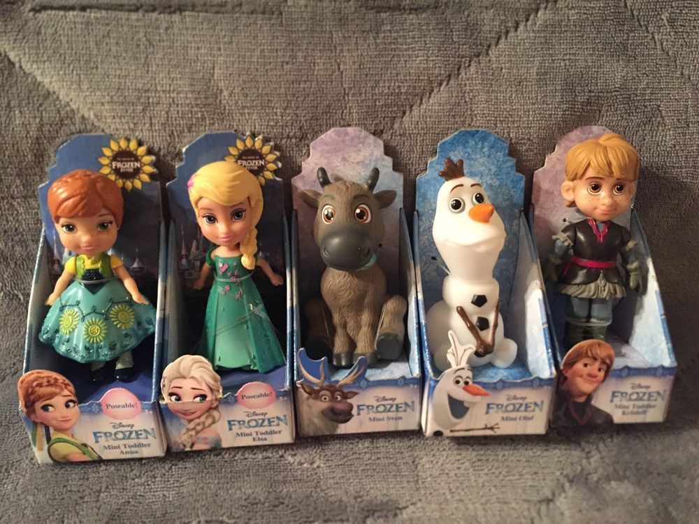 DISNEY PRINCESS FROZEN MINI TODDLER DOLLS ANNA OLAF Christmas Frozen II
