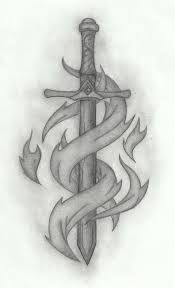 celtic sword tattoo on forearm - Google Search